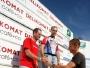 Martin jako skokan roku  na bedně !  HaPe dresy byly letos na Delikomat manažer triatlonu vidět !!!