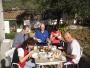 tak jsme raději snídali venku na sluníčku