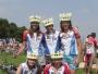 Tým Hape ženy - horní řada zleva: Magda,Alena,Jana dole zleva Eva a Soňa