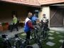 Dorazili bikeři - Milan a Madla a Petr